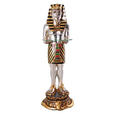 Design Toscano The Egyptian Pharaohs Faithful Servant Statue - NE43377
