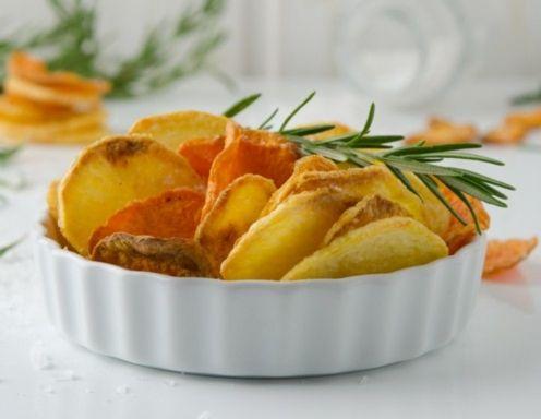 Kartoffel-Chips Rezept aus dem Philips Airfryer