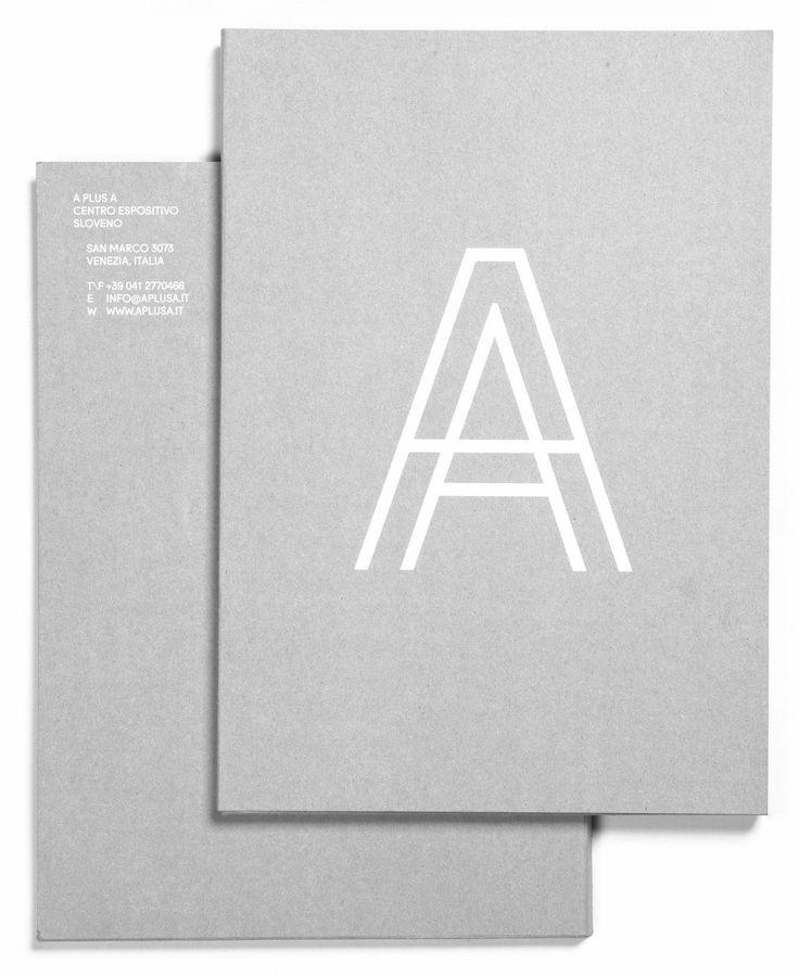 Le studio de design basé à Venise, Tankboys, signe l'identité visuelle du centre d'exposition slovène A plus A.