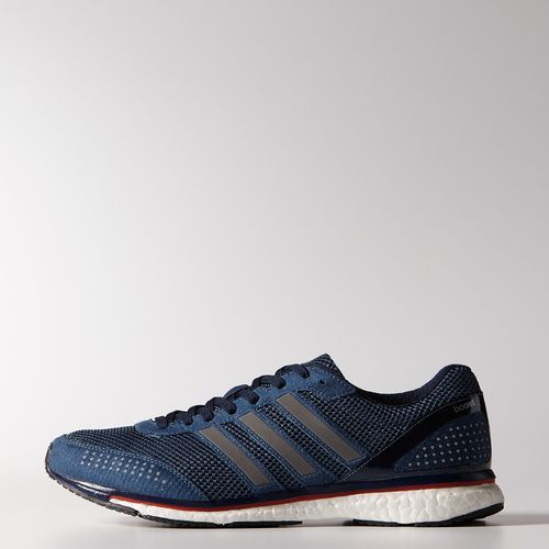 adidas - Adizero Adios Boost 2.0 Shoes Vista Blue  /  Vista Blue  /  Collegiate Navy M29708