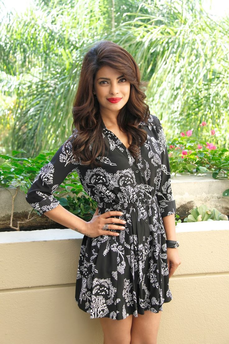 Priyanka Chopra Looks Super Sexy At 'Quantico' Press Conference At Beverly Hilton Hotel In Beverly Hills
