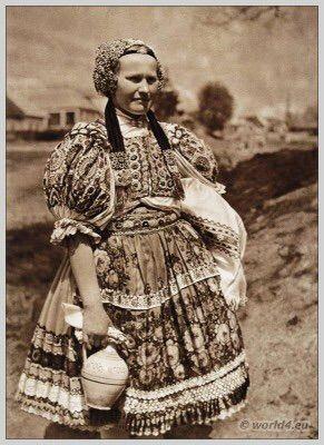 Slovakian folk costume
