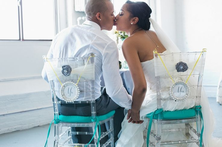 Teal, Yellow & Grey Wedding Inspiration | Wedding Colors