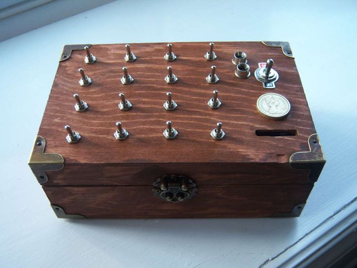 The Enigma Puzzle Box.  This would make a cool geocache.