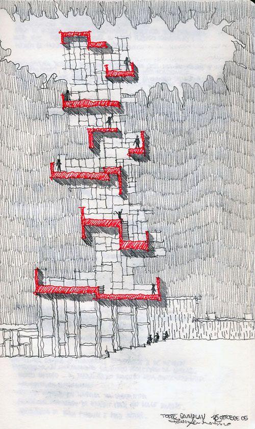 © Fabio Alessandro Fusco, Verticale moderato/Low High Rise, 2005