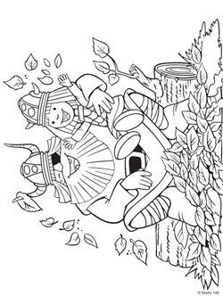 Kids N Funcom 36 Coloring Pages Of Wicky The Viking çizimler