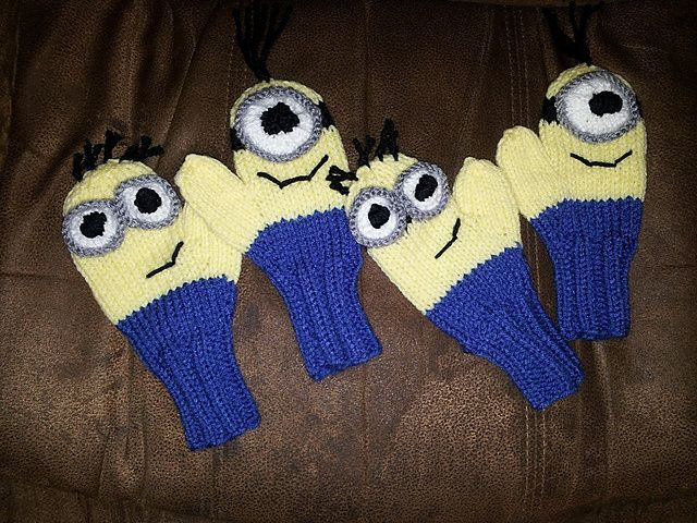 Minion Inspired Knitting Patterns | In the Loop Knitting
