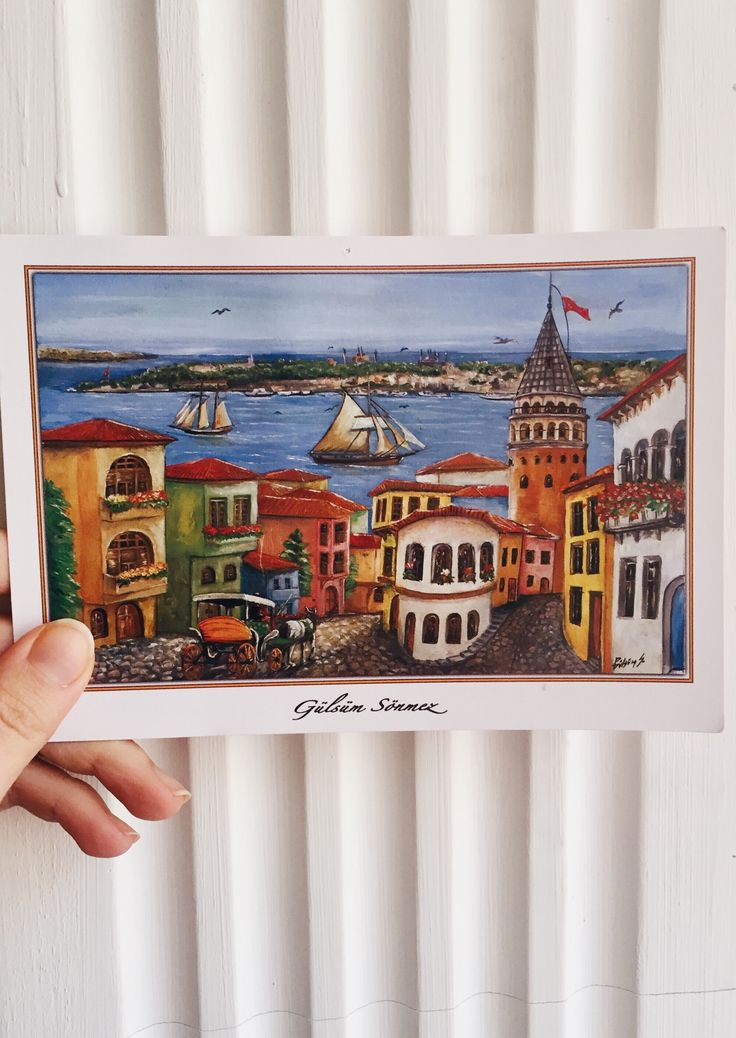 Postcard from Turkey, Postcrossing 🇹🇷