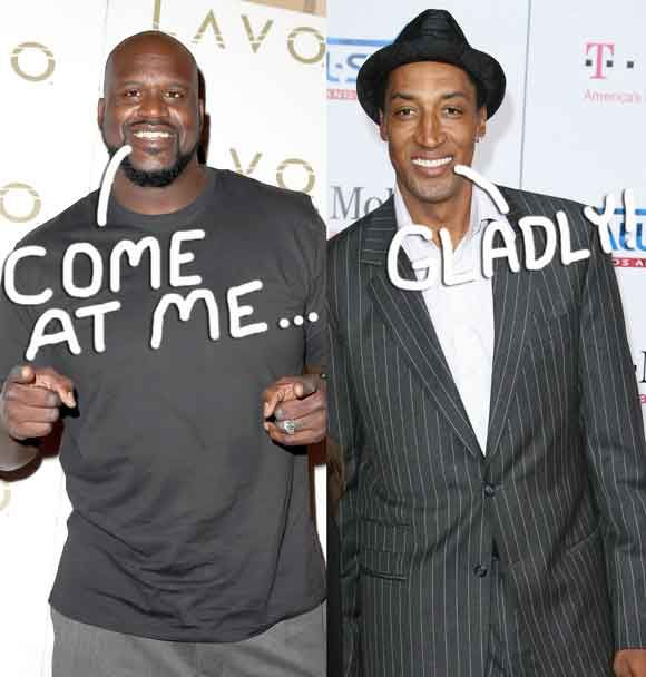 Shaquille O'Neal Burns Scottie Pippen On Social Media But Pippen Fires Back In This AH-Mazing, Nonstop Feud!