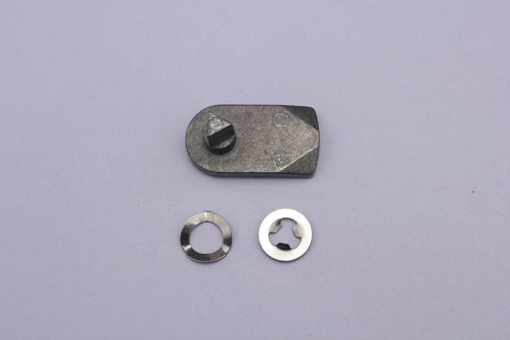 Meter box / door repair solution :- replacement latch in metal