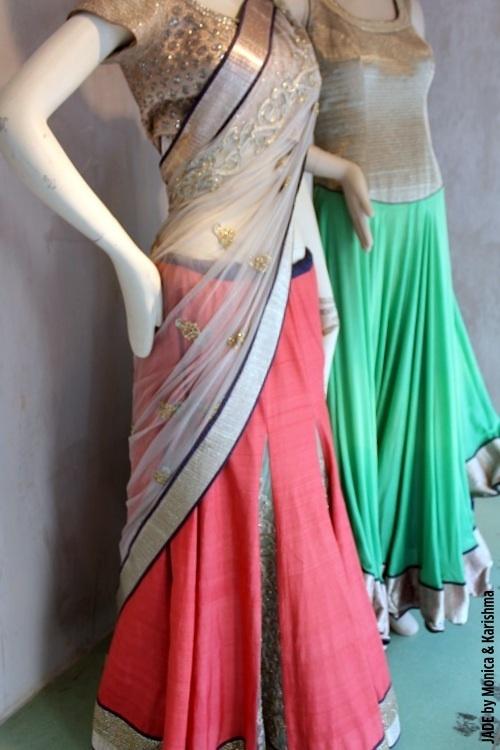 Half saree inspiration