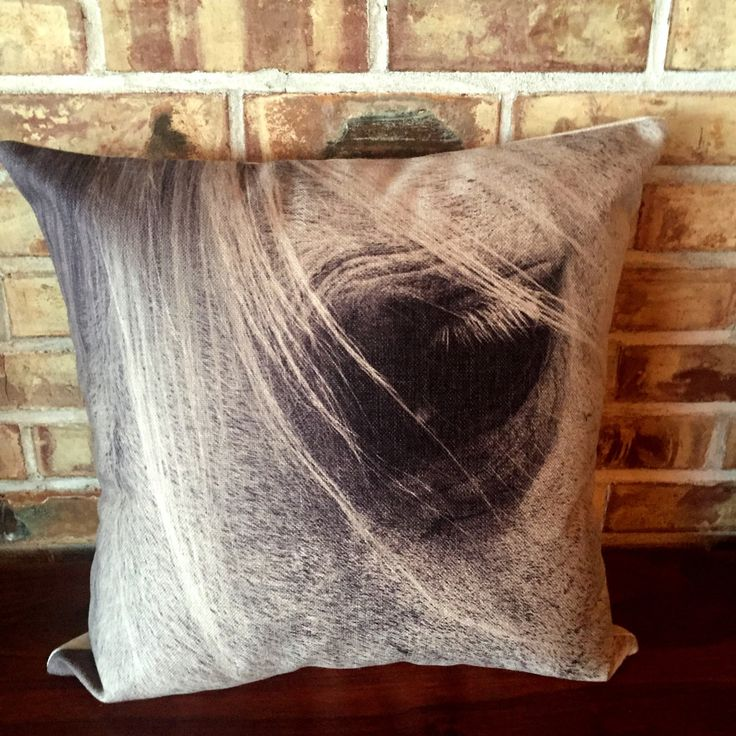 #Rustic #Modern #Décor Gentle #Horse Eye #Pillow Cover by #HorseEyeDesigns on Etsy