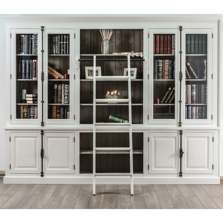 WINCHESTER COLLECTION большой книжный шкаф - Книжные шкафы, витрины, библиотеки - Гостиная и кабинет - Мебель по комнатам