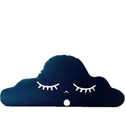Black Cloud Pillow