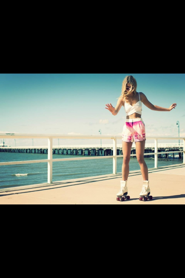 Roller blades are always in