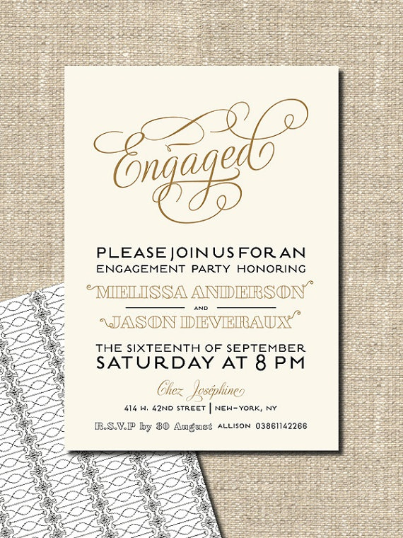 9 best Invitations images on Pinterest - free engagement invitations