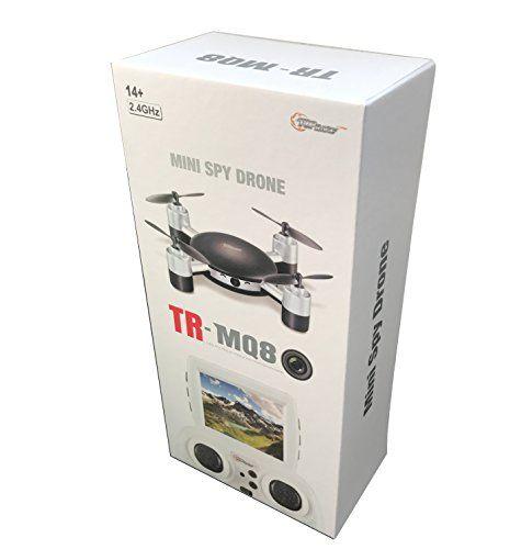 Mini Drone con la cámara de espionaje de Top Race, 2,4 GHz de control remoto para niños de 14 años y más (tr-mq8) - http://www.midronepro.com/producto/mini-drone-con-la-camara-de-espionaje-de-top-race-24-ghz-de-control-remoto-para-ninos-de-14-anos-y-mas-tr-mq8/