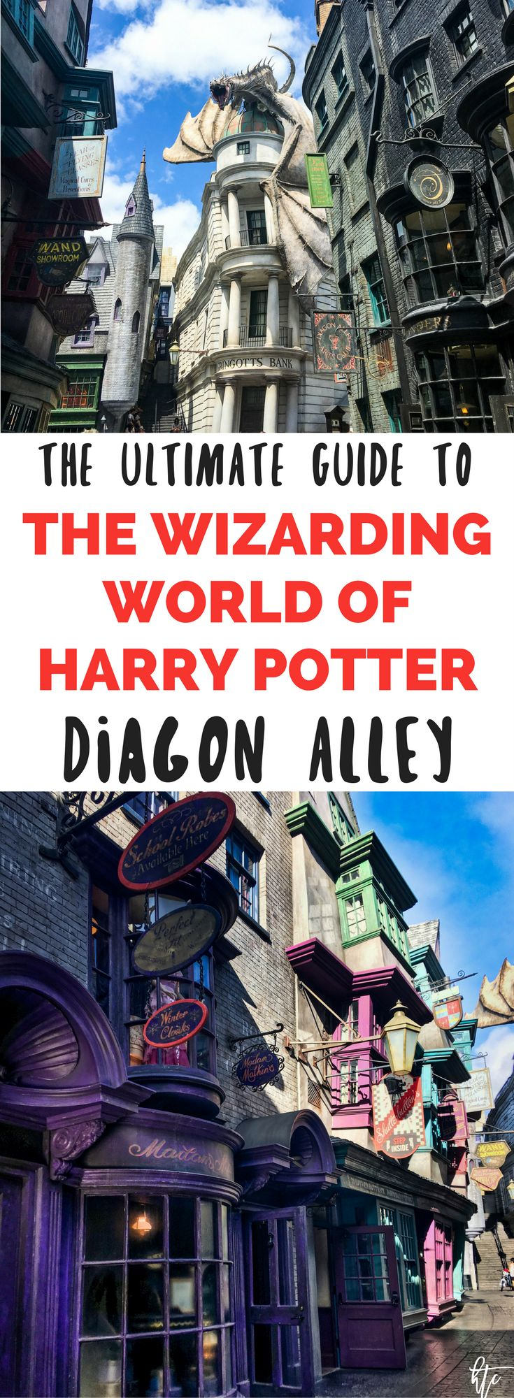 Visit the Wizarding World of Harry Potter in Orlando, Florida at Universal Studios with this ultimate guide. Harry Potter World Tips and Tricks to make ensure you ride all the rides and see all the amazing details!