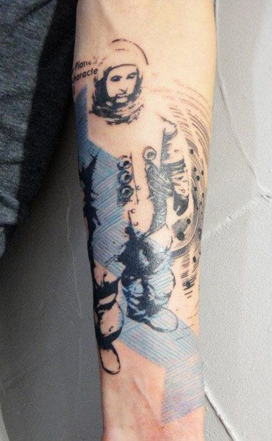 Abstract Tattoo by Xoil Tattoo | Tattoo No. 10637