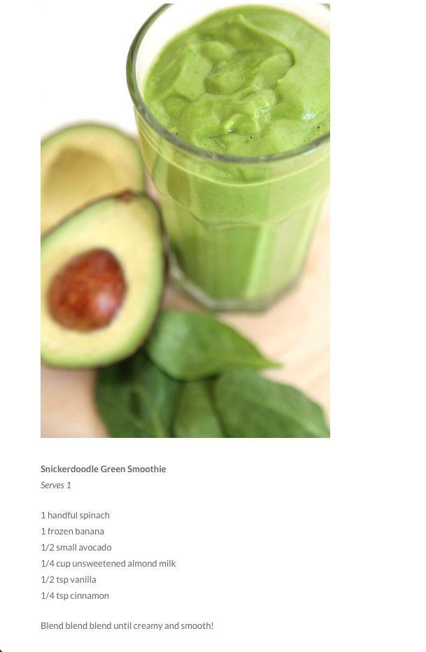 Snickerdoodle Green Smoothie