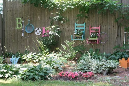 Repurposed items become art!!!!