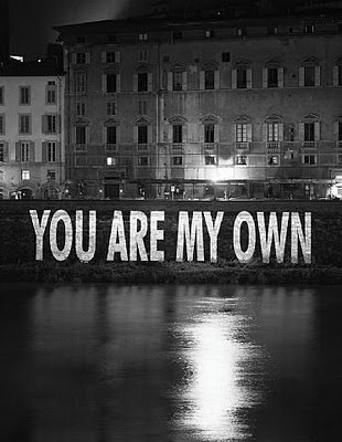 Jenny Holzer, You Are My Own 2002
