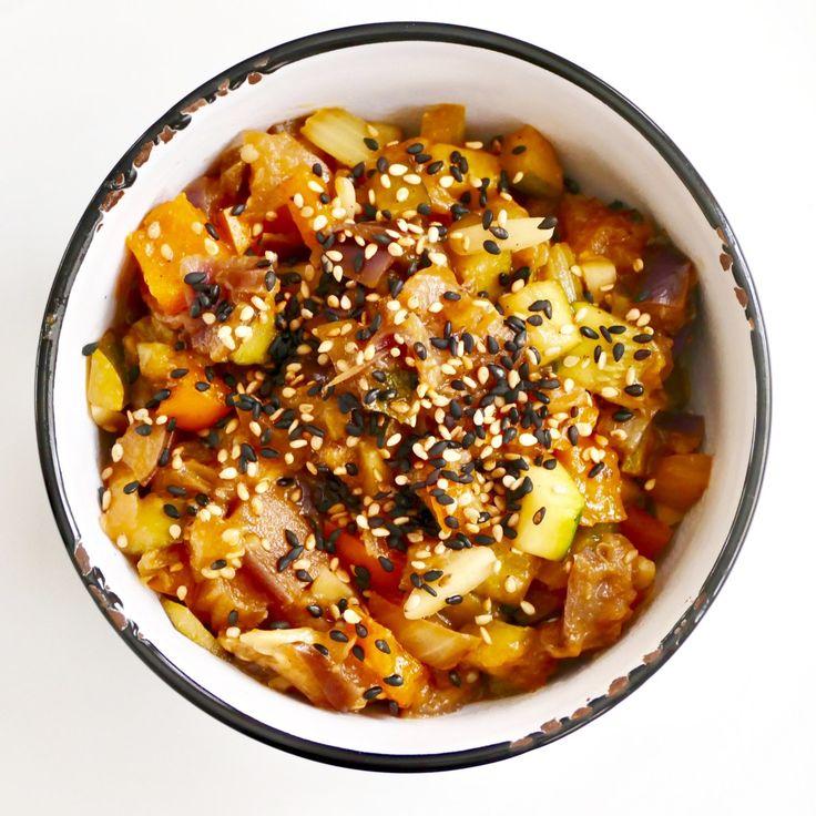 Ragoût de légumes à l'orientale - Tellement bon, ce ragoût végétalien saura satisfaire même les carnivores de votre famille !
