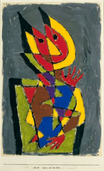 Paul Klee (1879-1940): Figurine of the Colourful Devil (1927)