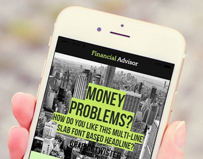 "Check out new work on my @Behance portfolio: ""Finacial Advisor"" http://be.net/gallery/31779805/Finacial-Advisor"