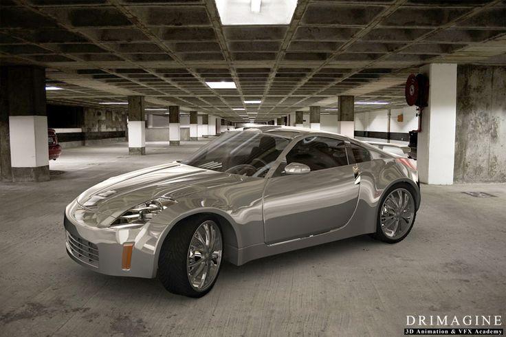 #nissan_350z; #animacja 3D; #samochody; #auta; #grafika 3D