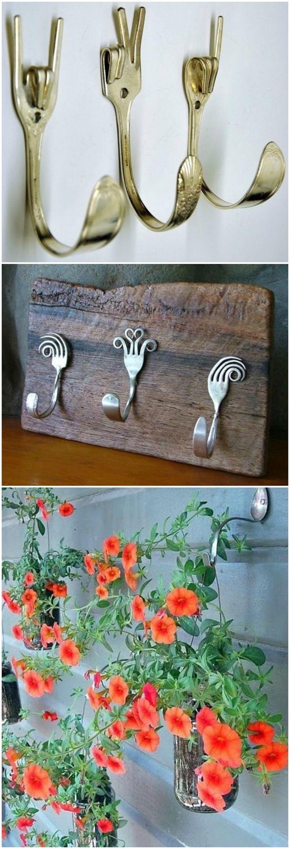 Manualidades diy con cubiertos. www.ecodecomobiliario.com