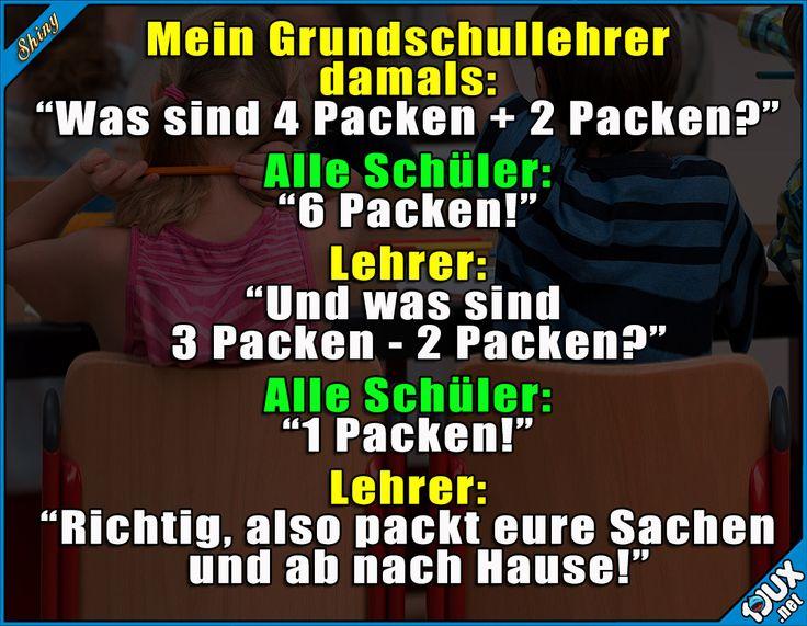Hat das nur mein Lehrer gemacht? ^^  #Humor #lachen #Kindheit #Sprüche #lustig #Witze #lustigeSprüche #Jodel