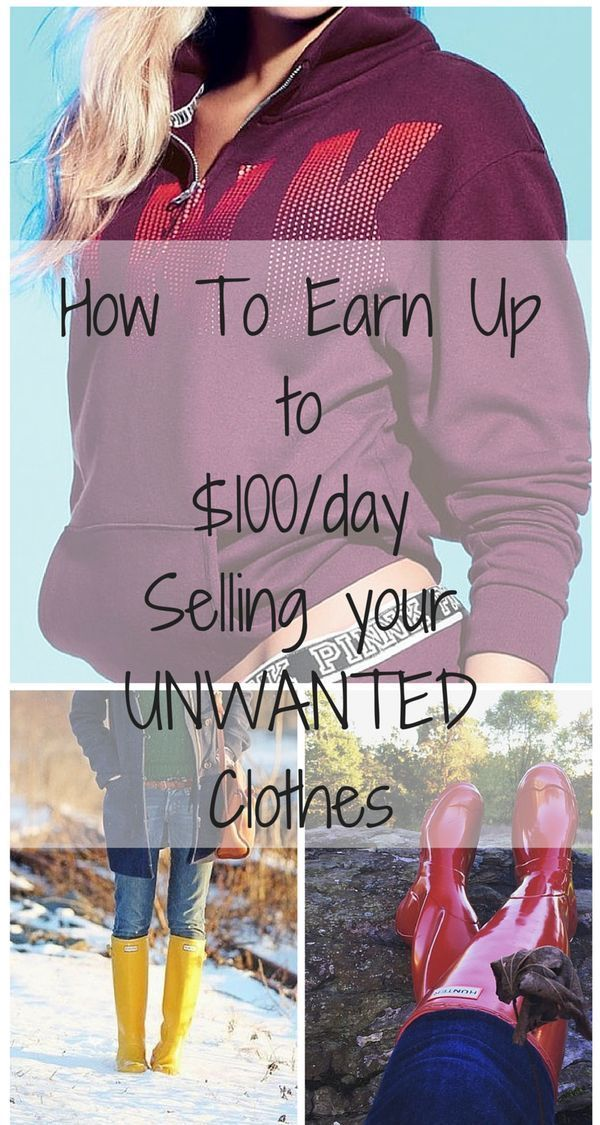 Need something outside the 9-5? Make up to $5000 cleaning out your closet. Click image to install free app now!