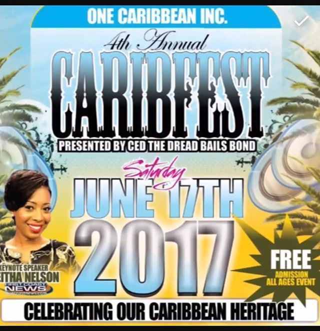 """Jacksonville!!! Come out, wukkup, and whine your waistline to the soca music and GOOD VIBES ONLY at the 4th Annual Caribest! Guess who dressed the hostess?? Still living #conscious -Conscious Designz Thank you @keithasmiles for your support. We'll be there representing my daughter's heritage 🇧🇧🇧🇧🇧🇧🇧🇧#bgi #goodvibes  #jacksonville #caribfest #2017 #live #life  #loveyourself #love #your #culture #yellow #blue #sun and the #sea #peace #jacksonvillefl #events"" by @conscious_designz…"