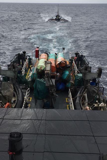 Bakamla RI Tangkap Satu Kapal Pencuri Ikan dan Angkat 12 Rumpon Philipina