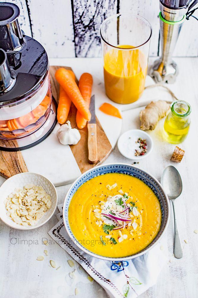 Pomysłowe Pieczenie: Rozgrzewająca zupa marchewkowa