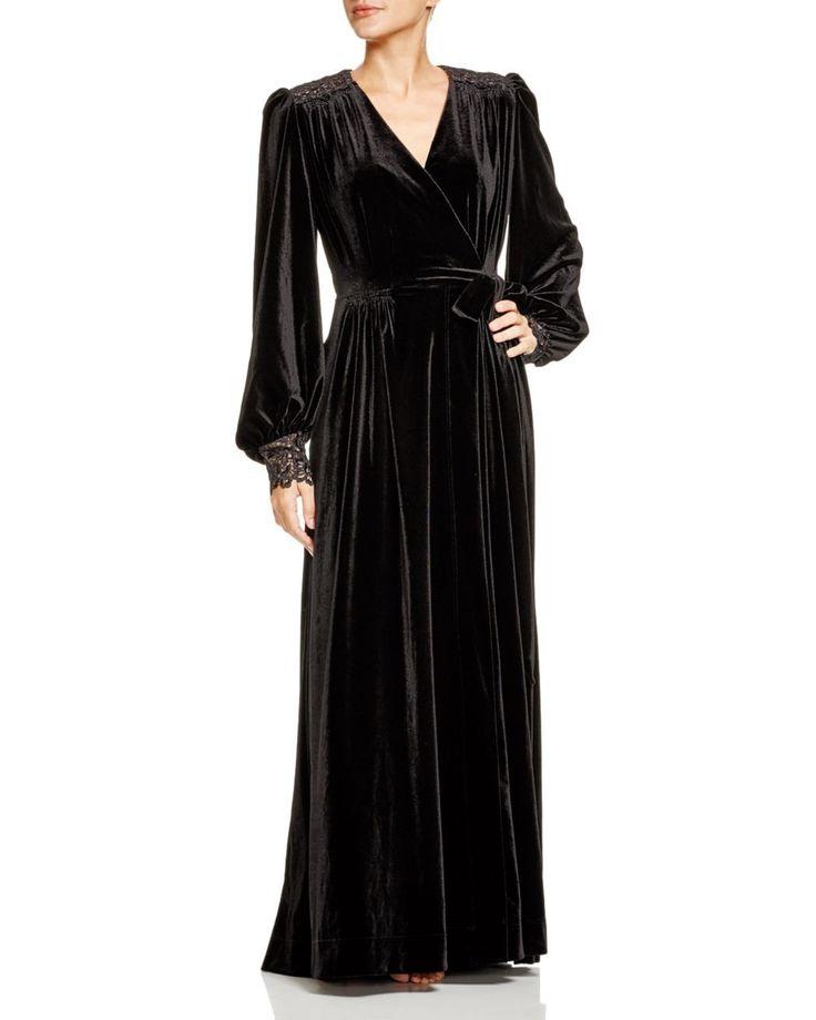 Robe dahlia ba&sh noire