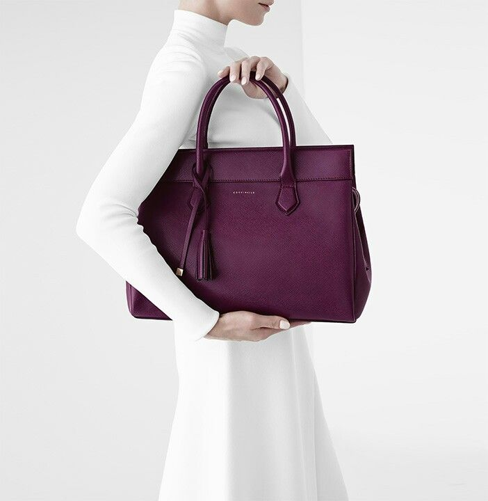Coccinelle bag - powder blue would be perfect