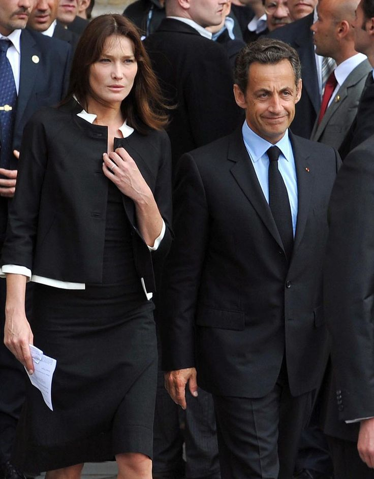Carla Bruni and nicolas sarkozy | Carla Bruni e il marito Nicolas Sarkozy