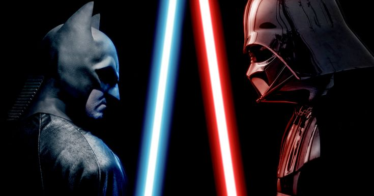 Batman Battles Darth Vader to Rescue Superman in an Alternate Ending to a Previous 'Super Power Beat Down' Episode