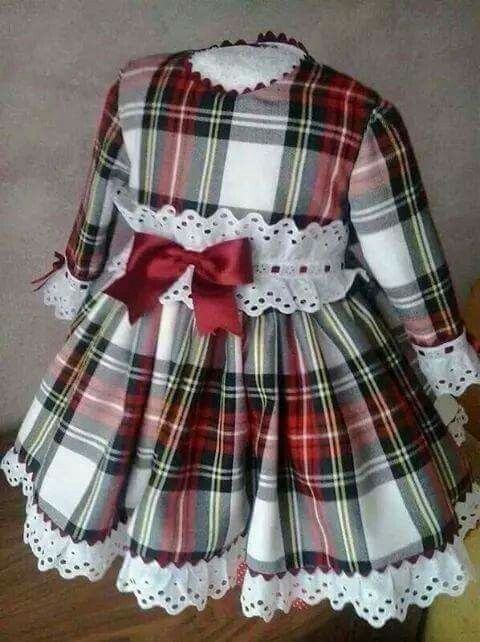 f f tartan maxi dress 3t