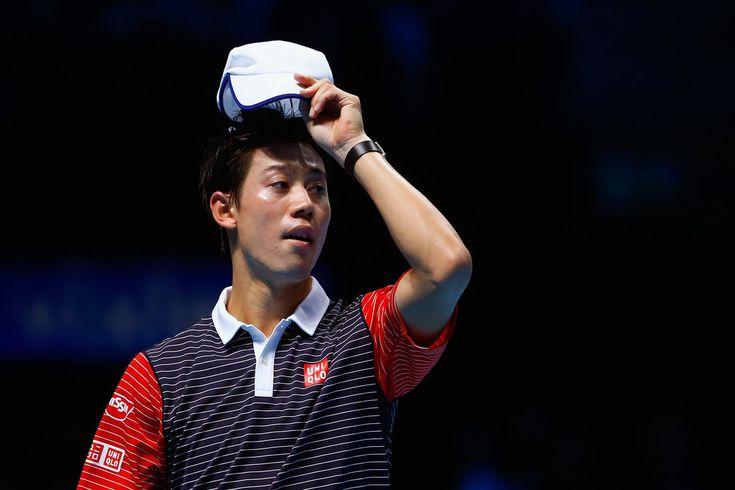Kei Nishikori Photos: Barclays ATP World Tour Finals: Day 5