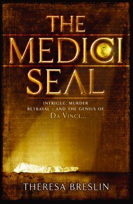 The Medici Seal by Theresa Breslin.  A young boy is saved from drowning by the companions of Leonardo Da Vinci. From this moment, Matteo is at the Maestro's side as he carries out his work, ranging from the painting of magnificent frescos to intricate dissection of the human body. But Leonardo is employed by the ruthless Cesare Borgia, head of one of Italy's leading families. As Da Vinci and Matteo travel across Italy on the Borgia's business, murder, deceit and revenge follow in their…