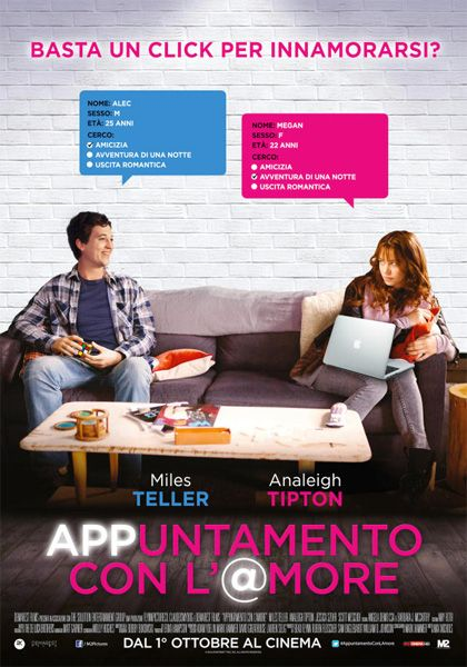 ::HD_GUARDA:: APPuntamento con l'@more film completo streaming gratis ITA  GUARDA ORA: Link diretto streaming FILM online ITA ===>>>> http://bit.ly/1ODUxJZ GUARDA ORA: Link Download ===>>>> http://bit.ly/1ODUxJZ  Sinossi e dettagli: Un film di Max Nichols. Con Analeigh Tipton, Miles Teller, Jessica Szohr, Scott Mescudi, Berto Colon. continua» Titolo originale Two Nights Stand. Commedia sentimentale, Ratings: Kids+13, durata 86 min. - USA 2014. - M2 Pictures uscita giovedì 1 ottobre 2015.