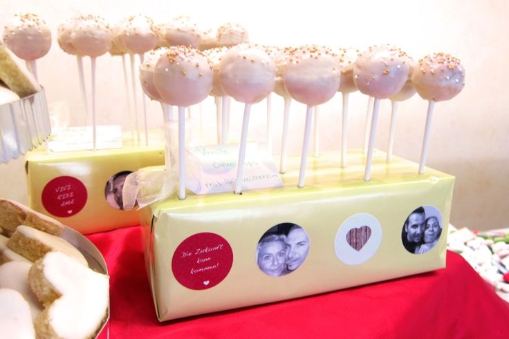 wedding sweet table - candybar cakepops