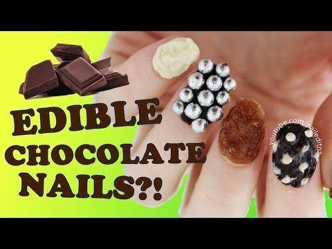 Tämä voi olla vuoden erikoisin kynsi-idea: Suklaakuorruteella tehdyt kynnet, jotka voi syödä | Nainen.com
