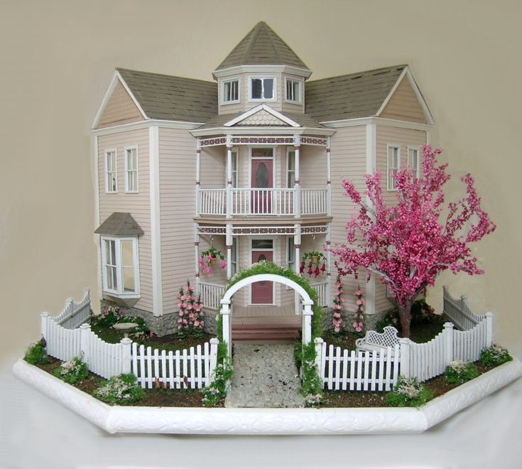 17 Best Ideas About Doll Houses On Pinterest