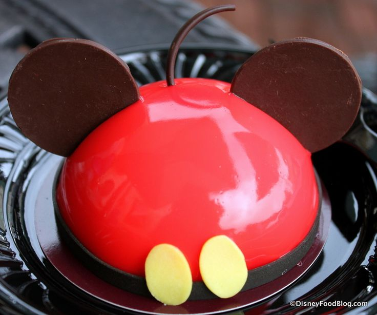 Mickey Mousse from Amorette's Patisserie in Disney Springs