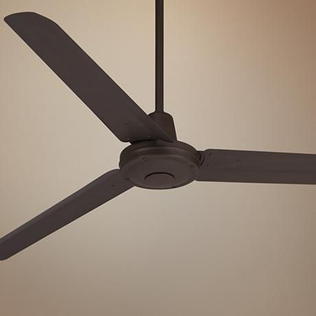 "60"" Casa Vieja Turbina™ Oil-Rubbed Bronze Ceiling Fan"