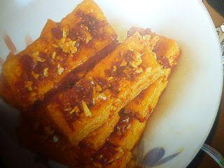 un mondo di ricette: cucina vietnamita - tofu fritto con citronella (da...